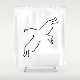 eagle bird Shower Curtain