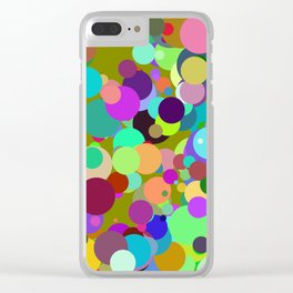 Circles #7 - 03122017 Clear iPhone Case