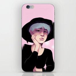 Pink Yoongi iPhone Skin