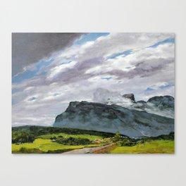 Hi morning! Canvas Print