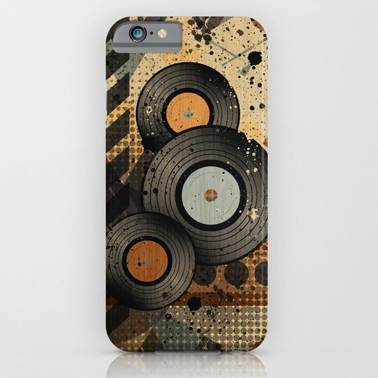 Retro Vinyl. iPhone & iPod Case