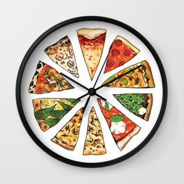 The Feast of St. Pizza: Philadelphia Edition Wall Clock