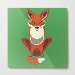 Mister Fox Metal Print