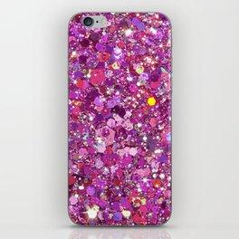 glitter iPhone Skin