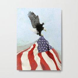 Flight to Freedom vintage Metal Print