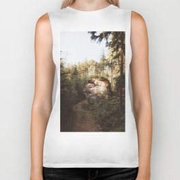 Forest trail - Landscape and Nature Photography Biker Tank