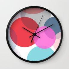 Pop Dots Wall Clock