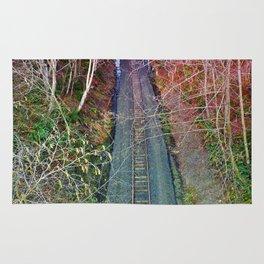 Down the Tracks Rug