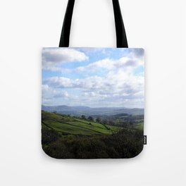 View from Orrest Head, The Lake District - Landscape and Nature Photography Tote Bag