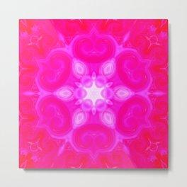 Star Flower of Symmetry 473 Metal Print