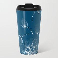 Dandelion Blue Travel Mug