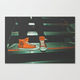 can i kick it?...yes you can.  Canvas Print