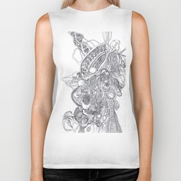 The Anatomy of Thought 1 Biker Tank