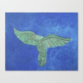 Sacred Hummingbird Canvas Print