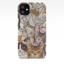A lot of Cats iPhone Case