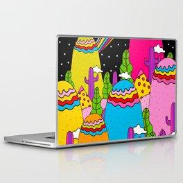 Night Sky Rainbows Laptop & iPad Skin
