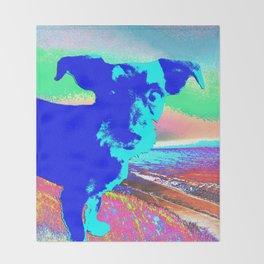 Puppy Pop Throw Blanket