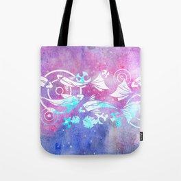 Galactic Goldfish Tote Bag