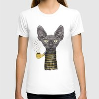 black cat T-shirts featuring Black Cat by dogooder