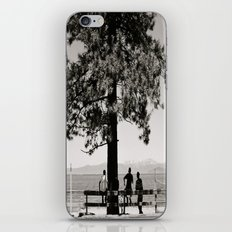 Hangin' out iPhone & iPod Skin