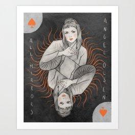 Angel Olsen - All Mirrors Art Print