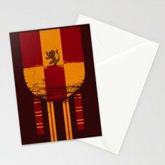 gryffindor crest Stationery Cards