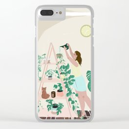 Tip Toes Clear iPhone Case
