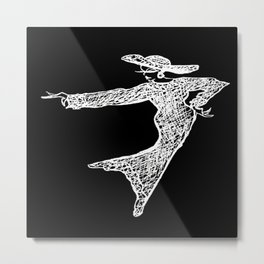 Inverted. Grace & Manners Logo Metal Print