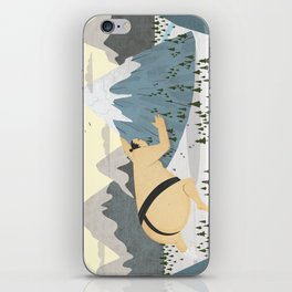 Oyama Fights The Mountain iPhone Skin