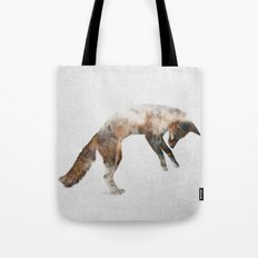 Jumping Fox Tote Bag