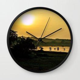 Sri Lankan Safari Wall Clock