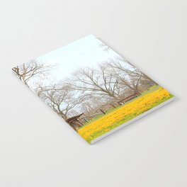 Field Of Gold Notebook