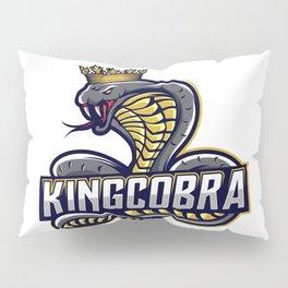 King Cobra Esport Logo Design Pillow Sham
