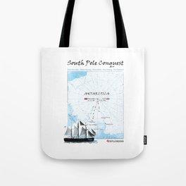 South Pole Conquest Tote Bag