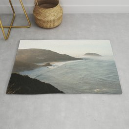 Sunrise over Big Sur Rug