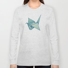 High Hopes | Origami Crane Long Sleeve T-shirt