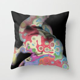 Camuflaje Throw Pillow