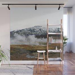 Geothermal Activity Wall Mural