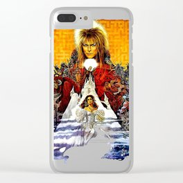 Labyrinth Poster Clear iPhone Case