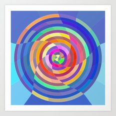 Visualize the Colors Art Print