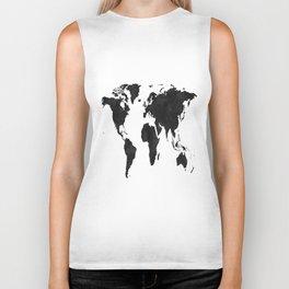 World Map Wall Art,World Map Canvas,World Map Print,World Map Poster,Printable Art,World Map Svg,Wat Biker Tank