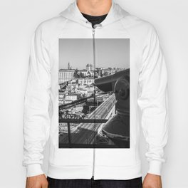 A coin operated scope and the Porto Cityscape, Porto, Portugal Hoody