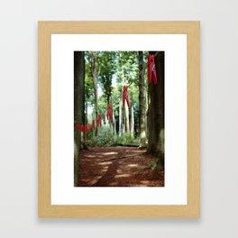 Clothespins... Framed Art Print