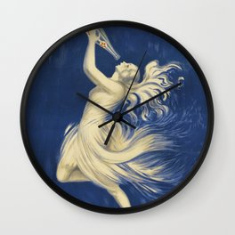 ROYAT Vintage Ad 1923 Mineral Water Wall Clock