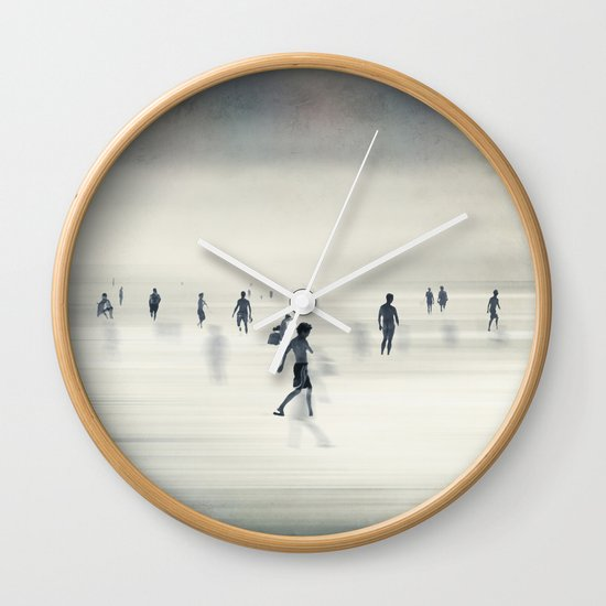floating on light Wall Clock