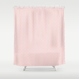 Strawberries N Cream Popsicle Pattern Shower Curtain