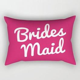 Bridesmaid Wedding Quote Rectangular Pillow