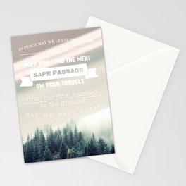 Traveler's Blessing Stationery Cards