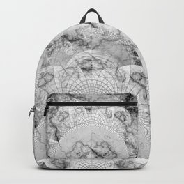 Foliated Marble as a Geometric Map of the Universe Backpack