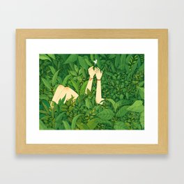 I wanna love u now Framed Art Print